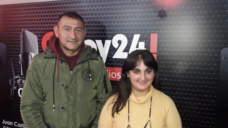 Video: Daniel Soria y Carolina Peralta visitaron los estudios de CSHoy24 Multimedios