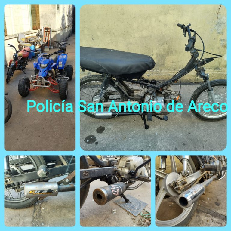 San Antonio de Areco: la policía secuestró vehículos durante el fin de semana
